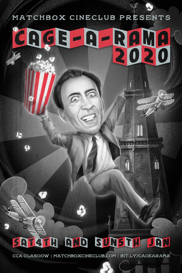 Cagearama 2020 poster by Vero Navarro